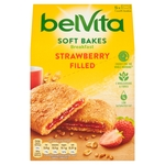 BelVita Breakfast Biscuits Soft Bakes Strawberry Filled 5 Pack
