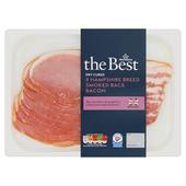 Morrisons The Best Hampshire Breed Dry Cured Smoked Back Bacon