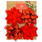Morrisons Red Confetti Bows