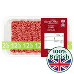 Morrisons Market St British Minced Beef 12 % Fat