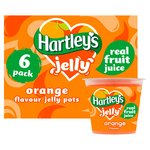 Hartleys Jelly Orange Flavour Jelly 6PK