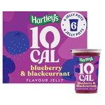 Hartleys 10 Cal Blueberry & Blackcurrant Flavour Jelly 6PK