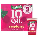 Hartleys 10 CalRaspberry Flavour Jelly 6PK
