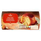 Morrisons Salted  Caramel Sponge Puddings