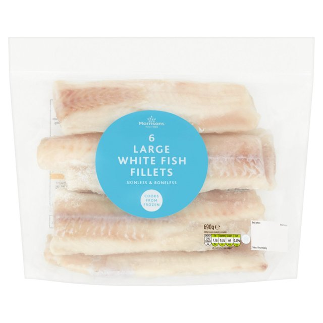 Morrisons Pollock Fillets