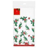 Morrisons Red Berries Tablecover 120 x 180cm