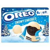 Oreo Sandwich Biscuits White Chocolate Covered