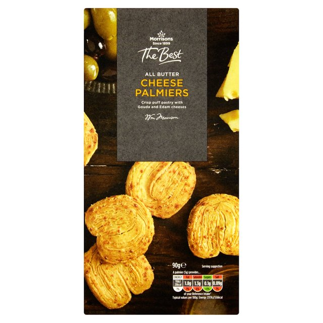 Morrisons The Best Cheese Palmiers