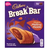 Cadbury Break Bar Melting Middle Double Chocolate Biscuits