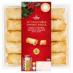 Morrisons 10 Vegetable Spring Rolls