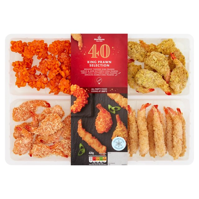 Morrisons 40 Piece Prawn Selection