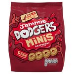 Jammie Dodgers Minis 6 Snack Packs
