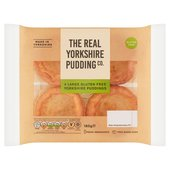 The Real Yorkshire Pudding Co. 4 Gluten Free Yorkshire Puddings