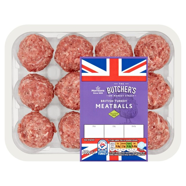 Morrisons British Turkey Meatballs