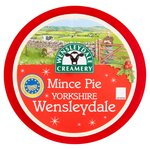 Yorkshire Wensleydale with Christmas Fruit & Brandy Truckle