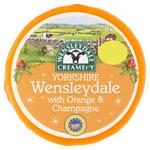 Morrisons Wensleydale with Orange & Champagne Cheese Truckle