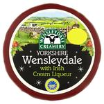 Morrisons Wensleydale with Irish Cream Cheese Truckle
