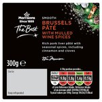 Morrisons The Best Brussels Pate with Mulled Wine Spices