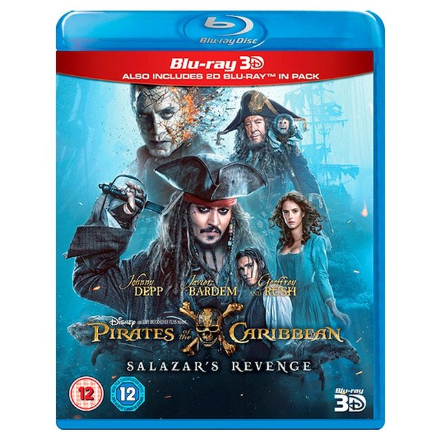 Pirates Of The Caribbean Salazar's Revenge 3D Blu Ray (12)