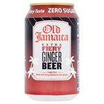 Old Jamaica Extra Fiery Ginger Beer Zero Sugar