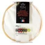 Morrisons The Best Baking Camembert With Cranberry & Clementine