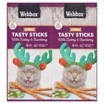 Webbox Cat Sticks Turkey & Cranberry