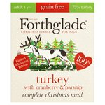 Forthglade Grain Free Turkey with Cranberry & Parsnip Christmas Meal