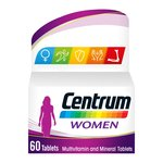 Centrum Women 60 Tablets Multivitamin Multimineral Food Supplement