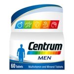 Centrum Men 60 Tablets Multivitamin Multimineral Food Supplement