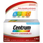 Centrum Fruity Chewables 30s Multivitamin Multimineral Food Supplement