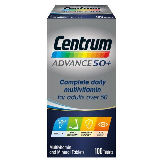 Centrum Advance 50+ Multivitamin Multimineral Food Supplement