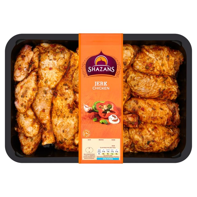 Shazans Jerk Chicken 1.6Kg
