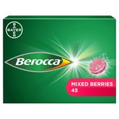 Berocca Mixed Berries Flavour 45 Effervescent Tablets