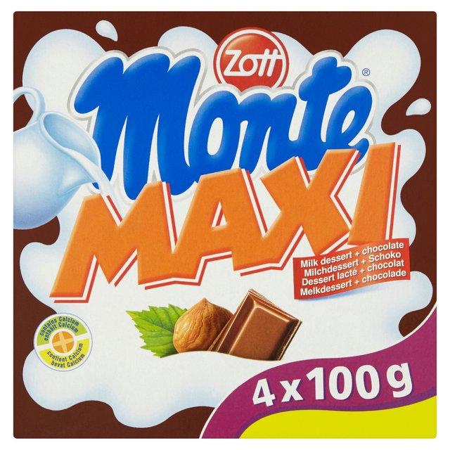Zott Monte Maxi Milk Dessert + Chocolate
