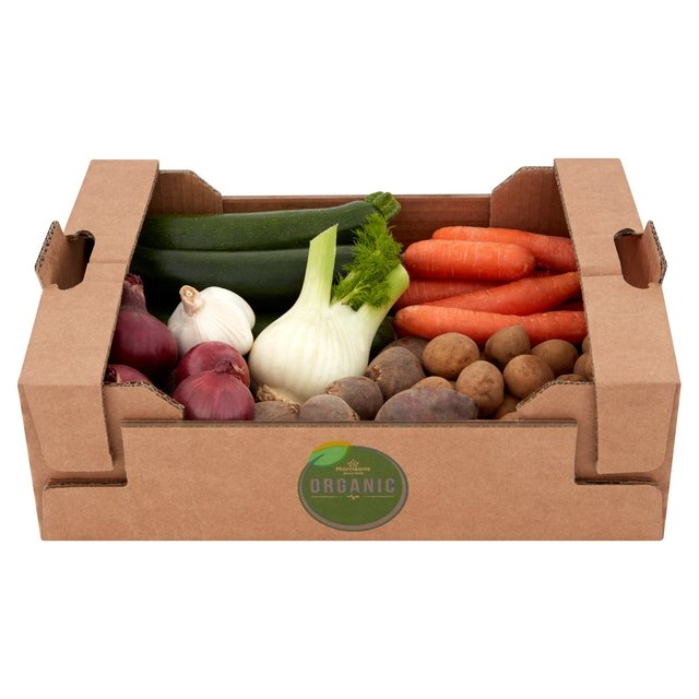 Morrisons Organic Veg Selection Box