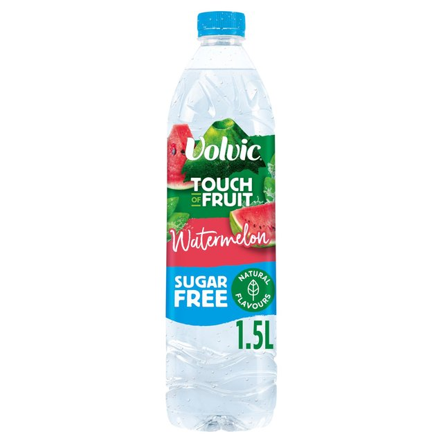 Volvic Touch of Fruit Sugar Free Watermelon Natural Flavoured Water