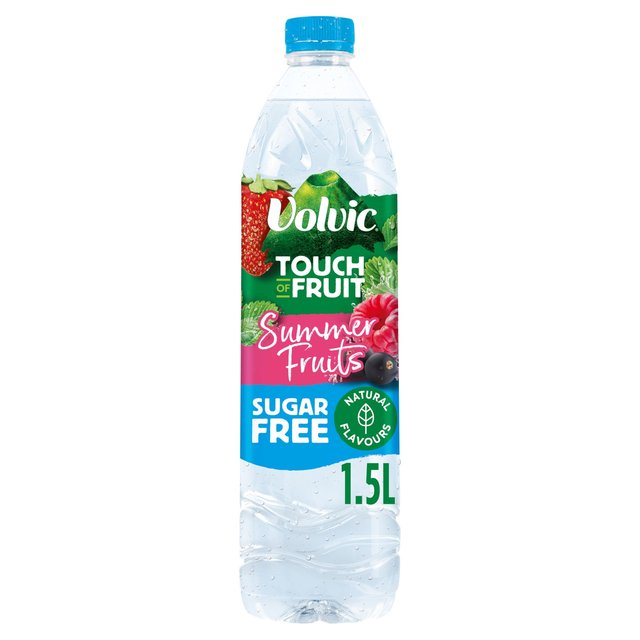 Volvic Touch of Fruit Sugar Free Summer Fruits Natural Flavoured Water
