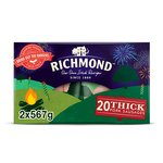Richmond 20 Thick Pork Sausages Twin Pack