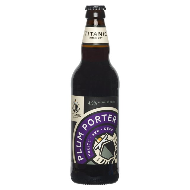 Titanic Dark Strong Plum Porter (Abv 4.9%)