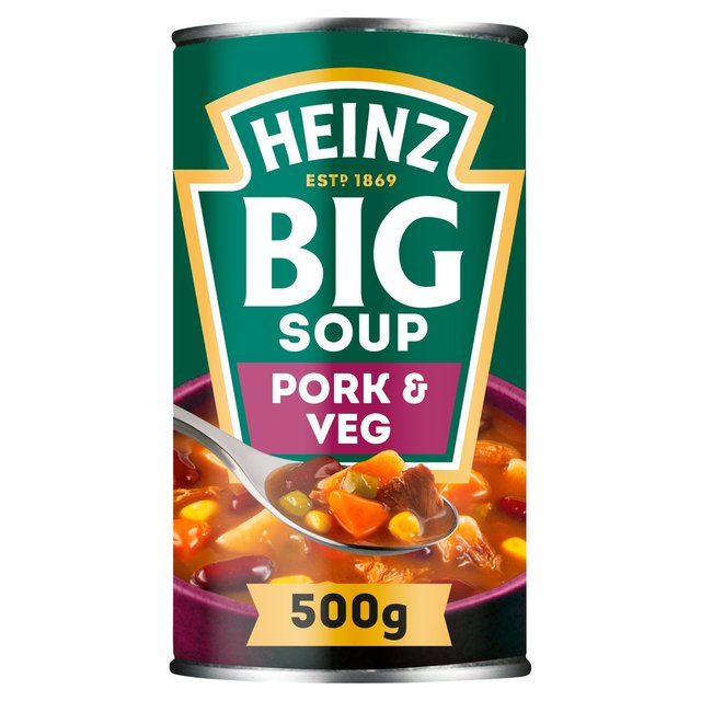 Morrisons Heinz Big Soup Mighty Pulled Pork Veg