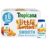 Tropicana Little Bottles Smooth Orange Juice