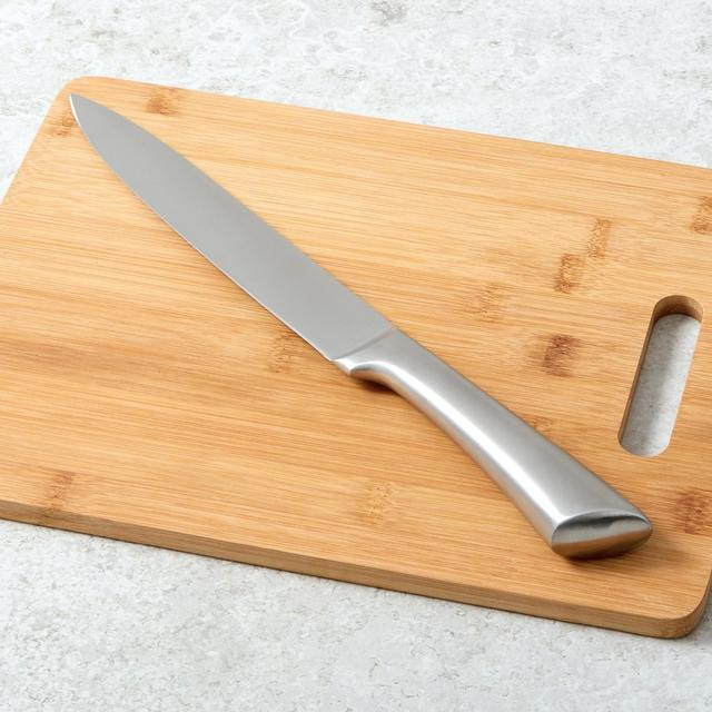 Morrisons Stainless Steel Handled Carving Knife