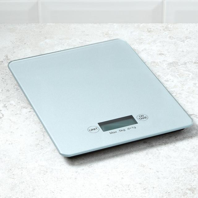 Morrisons Tempered Gl Digital Kitchen Scales