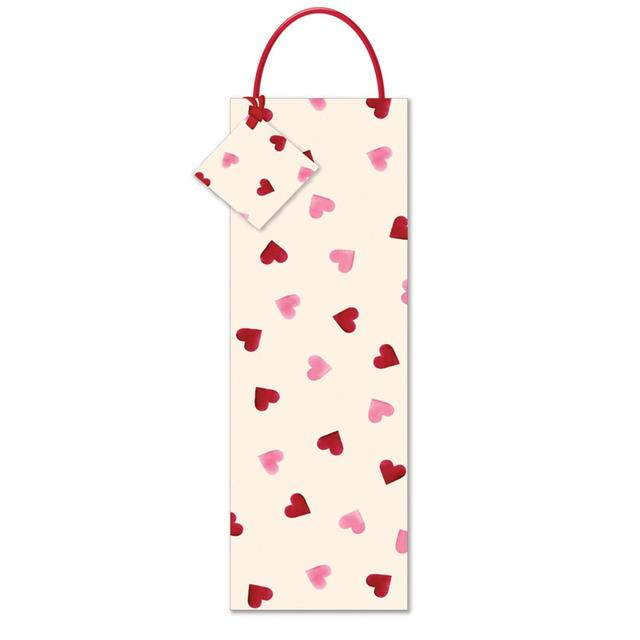 Emma Bridgewater New Hearts Bottle Gift Bag