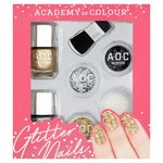 Academy Of Colour Glitter Nails Set