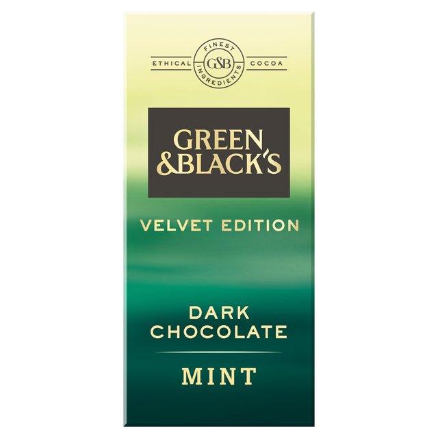 Green & Black's Velvet Edition Mint Dark Chocolate Bar