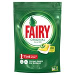 Fairy Original All In One 60 Dish Washer Capsules Lemon
