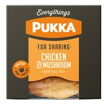 Pukka Family Size Chicken & Mushroom Pie
