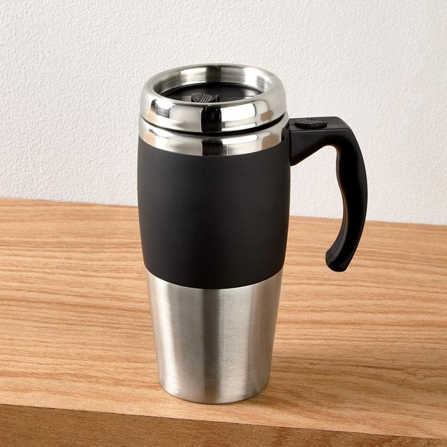 Morrisons Morrisons Double Wall Travel Mug With Handle Product