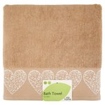 Morrisons Ornate Hearts Bath Towel